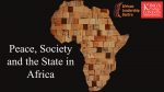 African Leadership Centre Recent Publications